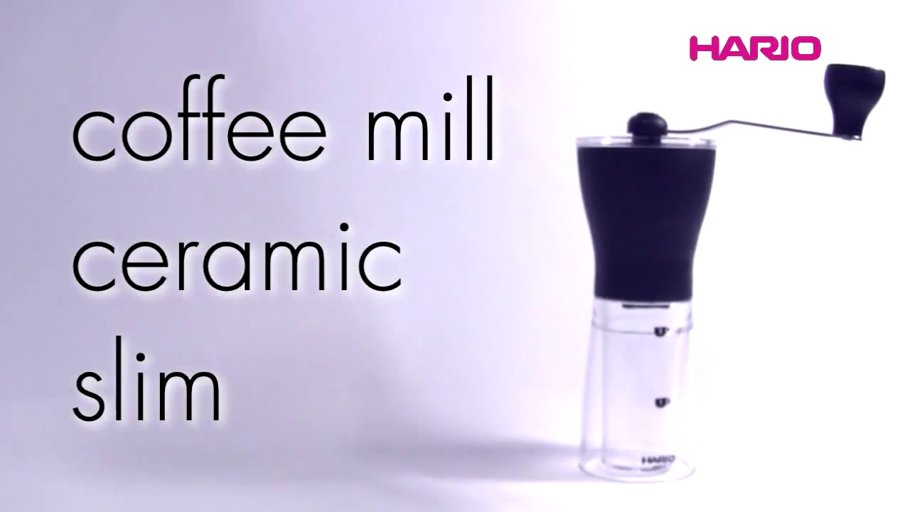 Coffee mill ceramic slim